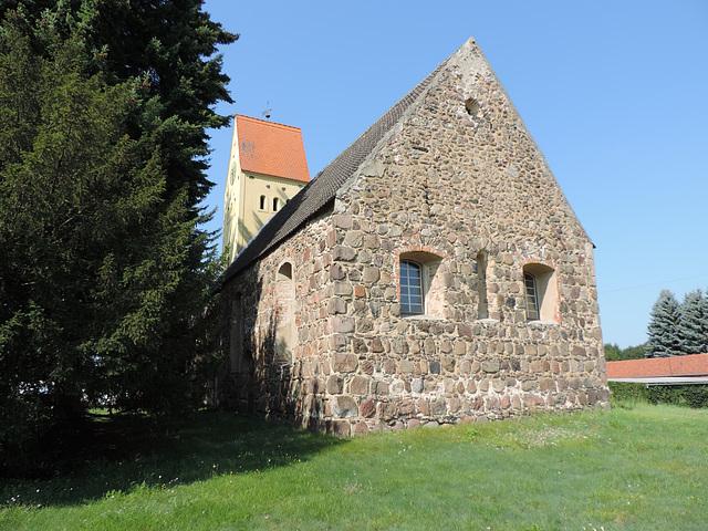 Dorfkirche in Merzdorf