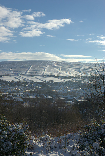 Towards Kinder Scout over Glossop