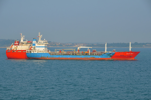 HALIT BEY and PAXOI bunkering