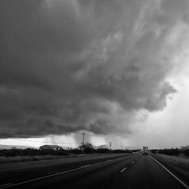 Eastbound Highway 90