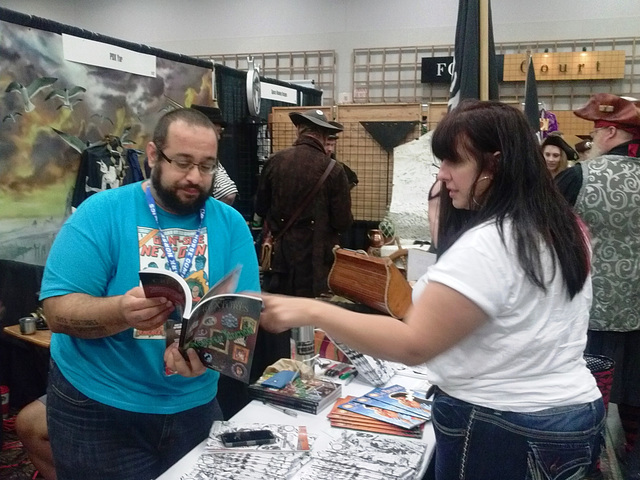 Aaron Duran Sells Comics