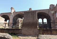 The Basilica of Constantine in the Forum Romanum, July 2012