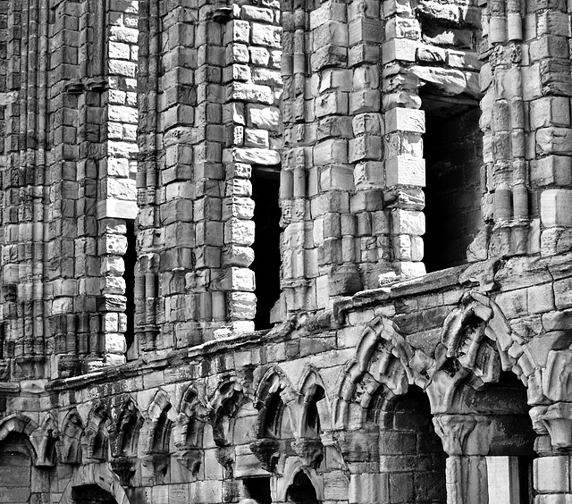 Tynemouth Priory,grand Norman architecture