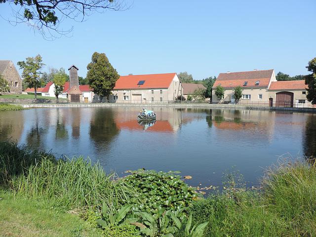 Dorfteich in Merzdorf