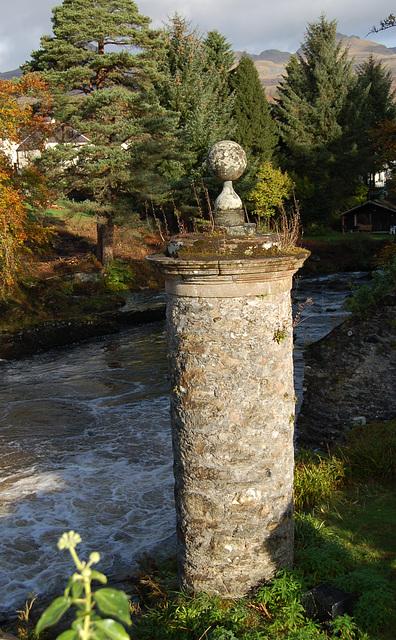 McKnabb graveyard, Killin, Stirlingshire, Scotland