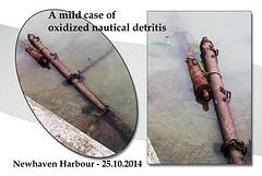 Rusty mast Newhaven - 25.10.2014