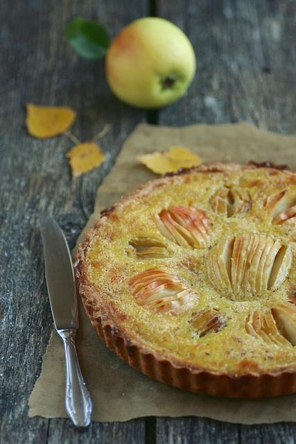 Elsassi õunakook / Alsatian apple tart