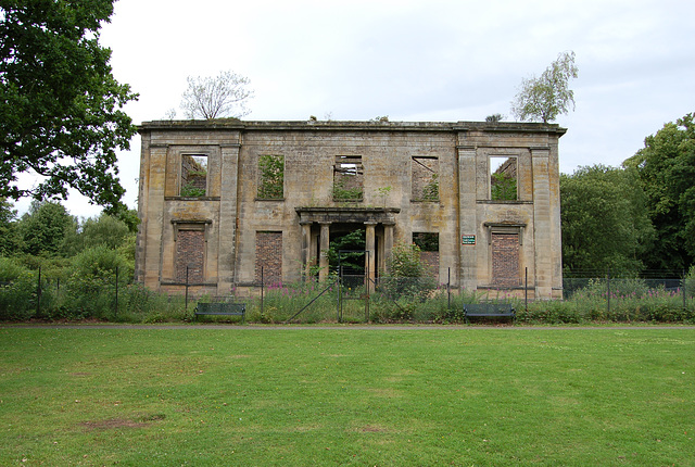 Plean House, Stirlingshire (abandoned c1970)