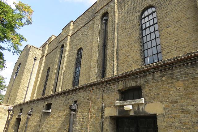 st. barnabas church, shacklewell, hackney, london