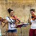 Street musicians in Pisa