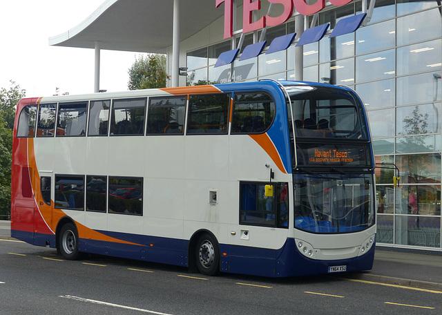 Stagecoach 15990 on Tesco Freebus - 12 September 2014