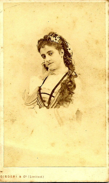 Adelia Patti by Disderi
