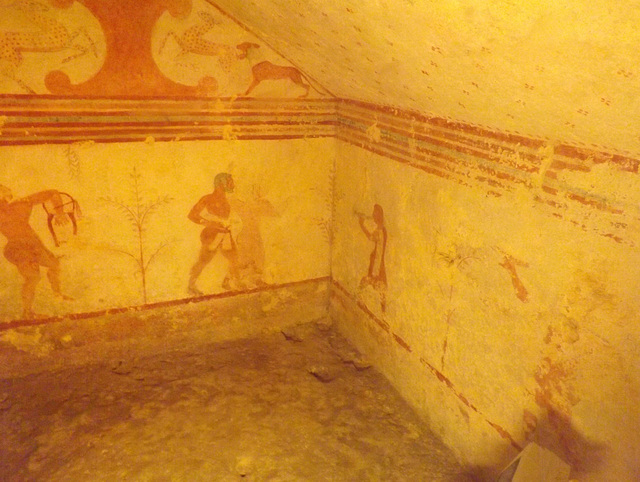 The Tomb of the Bacchantes in Tarquinia, June 2012
