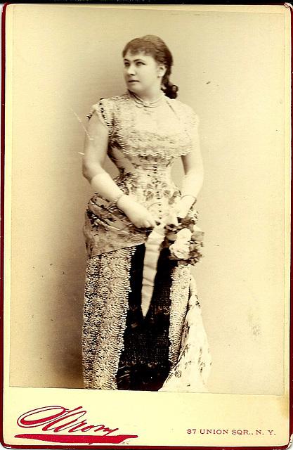 Marie Geistinger by Sarony