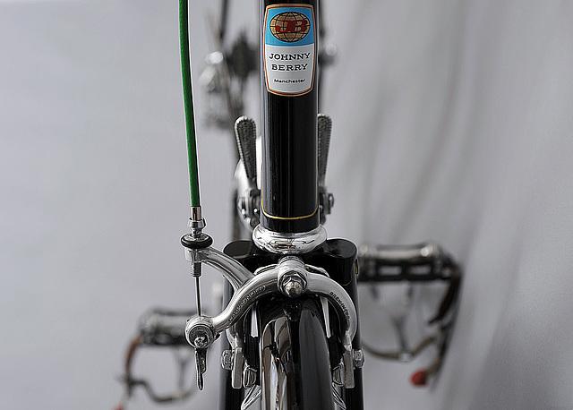 #721891 Last type badge. Campagnolo Nuovo Record brakes (2014)