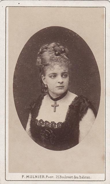 Joséphine de Reszke by Mulnier
