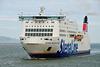 Ferry traffic in Dublin Port