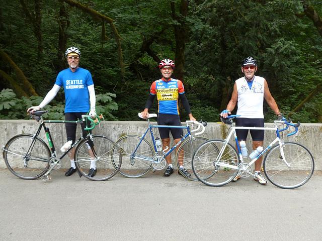 #721891 riding photo. Alan Woods, Jeff Buck, and Gary Molloseau (l to r) (2013)