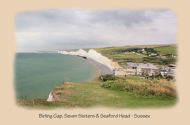 Birling Gap Seven Sisters & Seaford Head - 10.9.2014