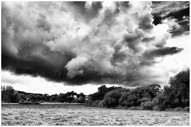 Storm Cloud over Devon