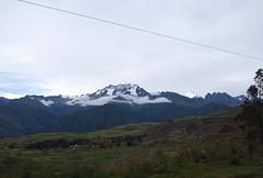 Sur fond de Cordillère des Andes