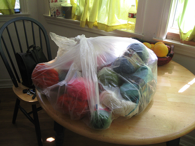 Mystery Thrift Yarn Bag:  Unopened