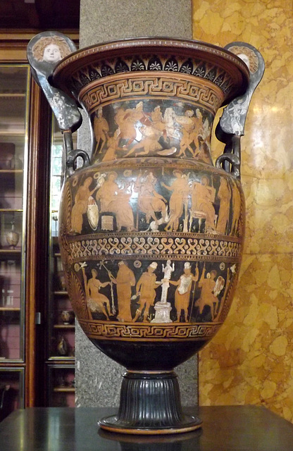 Apulian Red-Figure Volute Krater in the British Museum, May 2014