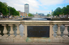 O'Connell Street Bridge, Dublin