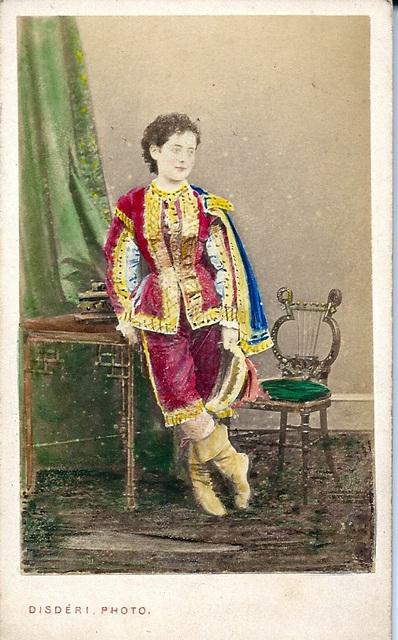 Pauline Lucca by Disderi