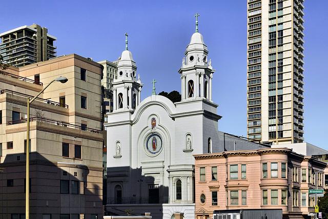 Nuestra Señora de Guadalupe Church – Broadway and Mason Street, San Francisco, California