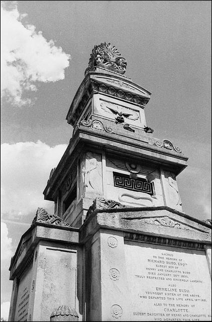 Budd Mausoleum, Brixton.