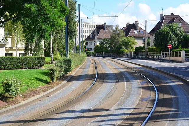 Caen 2014 – New one track tram