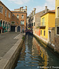 Venice - back canal and chimneys -  060114-029-2