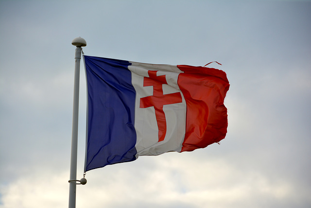 Juno Beach 2014 – Flag of the Free French