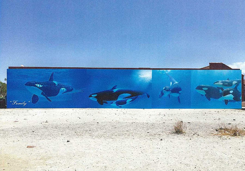 Orca Mural as proposed