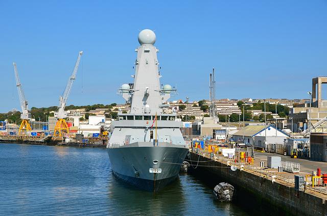 HMS DUNCAN in Devonport
