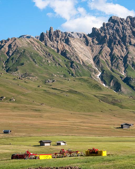 Seiser Alm, Ladinser Moor, Rosszähne, Rosszähne-Scharte - 2010-08-01-_DSC2579