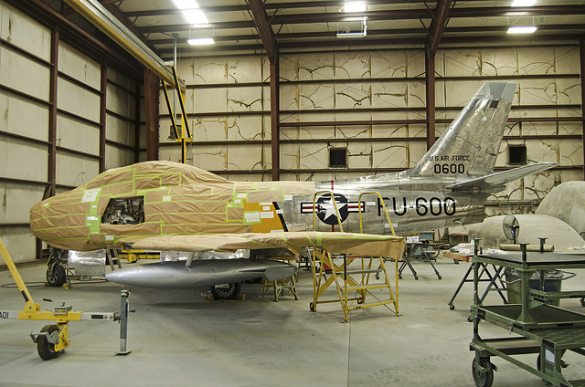 North American F-86E Sabre 50-600