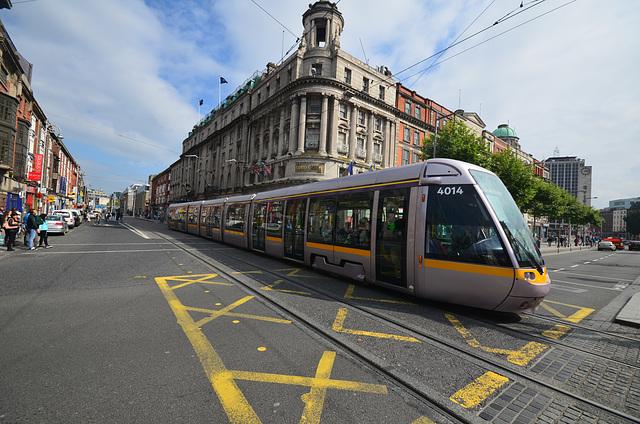 Dublin trams