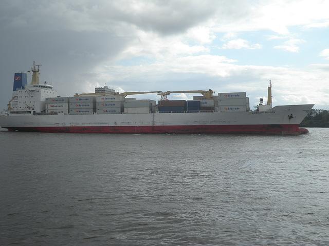 Frachter Swedish  Reefer