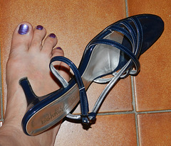 Cricri (Christine) - Bleu bonheur en déclic / Blue happiness click