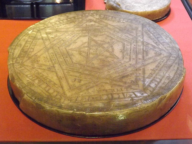 Seal of God Owned by John Dee in the British Museum, May 2014