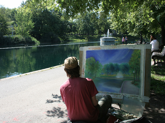 the artist/l'artiste
