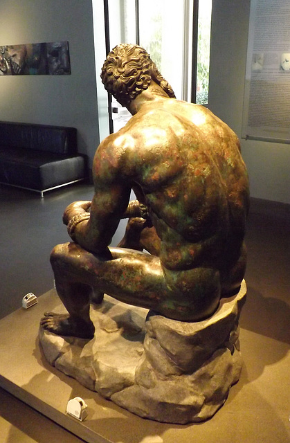 The Boxer in the Palazzo Massimo in Rome, July 2012