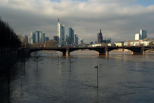 Hochwasser am Main