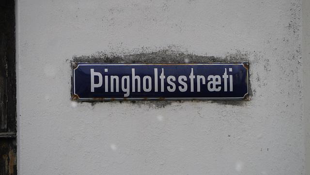 Thingholt Street