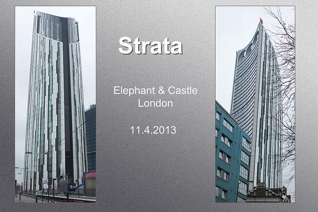 Strata - Elephant & Castle - London - 11.4.2013