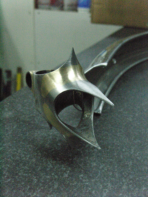 #CT209 Yet another view of the finished seat lug (2009)