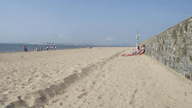 Yet another crowded day at the beach