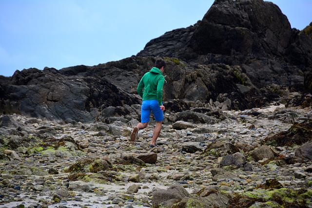 Saint-Malo 2014 – Running over the rocks